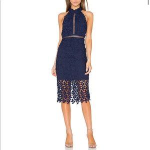 Bardot Gemma dress blue